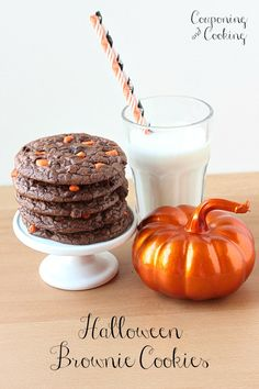 Couponing & Cooking: Halloween Brownie Cookie Sandwiches
