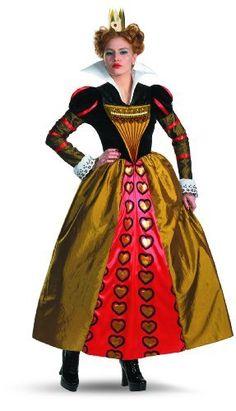 Disguise Women's Red Queen Deluxe...