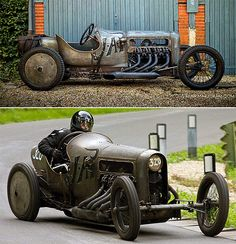 Meet Richard Scaldwell and his stunning 1908 Powered GN JAP Aero. This year old GN cycle car is powered by Vintage Sports Cars, Vintage Race Car, Zombie Survival Vehicle, Royce Car, Old Hot Rods, Race Engines, Best Muscle Cars, Car Storage, Car In The World