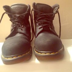 Military combat boots 👢👂I'm always listening (ABSOLUTELY NO TRADES)🚫🚫🚫 lowest I will go is 50 (NEVER WORN)🚫🚫🚫 Dr. Martens Shoes Combat & Moto Boots