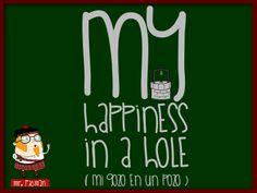 Aprende inglés con el profesor Mr. Picman: My happiness in a hole (Mi gozo en un pozo)