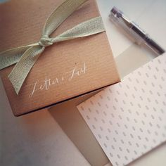 lovely simple packaging