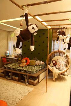 quarto de macaco menino