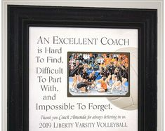 eam Gifts for Volleyball Coach Appreciation, Volleyball Coach Thank You Gift for End of Season Team Gift Wedding Gifts For Parents, Wedding Gifts For Bride, Gifts For Father, Anniversary Party Decorations, 50th Anniversary Gifts, Handmade Wedding Gifts, Photo Frame Design, Personalized Picture Frames, In Memory Of Dad