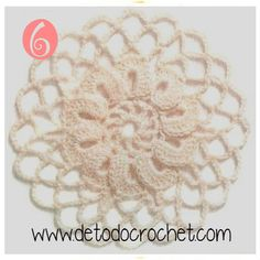 12 Patrones de Motivos Crochet / Descarga gratis Crochet Granny, Crochet Motif, Granny Square Tutorial, Beautiful Crochet, Mandala, Beige, Creative, Handmade, Yarns