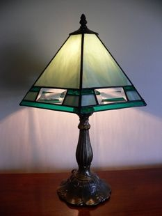 Lampshade pattern turned upside down to make a stand lamp shade ...