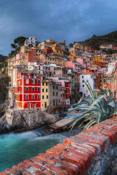 Cinque Terre, Italy. To live in one of these houses and see this every day!  I hope they realize how lucky they  are.