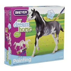 Reeves Breyer Paint Your Own Horse Activity Kit, Arabian & Thoroughbred
