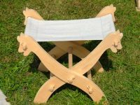 Furniture - Medieval Market, A folding chair type 3 cute