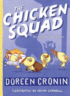 The Chicken Squad: The First Misadventure by Doreen Cronin http://www.amazon.com/dp/1442496762/ref=cm_sw_r_pi_dp_44TSub14Y1Y6R