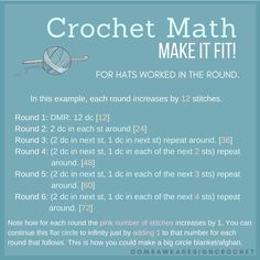 Crochet Hat Sizes and Heights Crochet Math. Oombawka Design CrochetDouble Double may refer to: Crochet Hat Sizing, Mode Crochet, Crochet Beanie Pattern, Crochet Stitches Patterns, Crochet Chart, Diy Crochet, Crochet Ideas, Hat Patterns, Crochet Turban