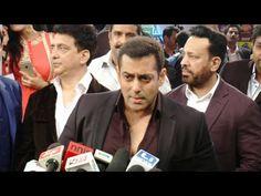 WATCH Salman Khan @ Red Carpet of the event Suron Ke Sang Salaam Shri Gulshan Kumar. See the full video at : https://youtu.be/QK2HJHwUVLo #salmankhan