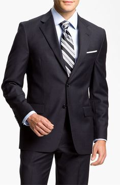 Joseph Abboud 'Profile Hybrid Signature' Wool Suit available at #Nordstrom