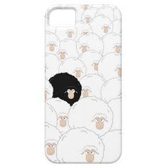 Black sheep barely there iPhone 6 case Cool Iphone 6 Cases, Iphone Case Covers, Sheep Cartoon, Black Sheep, Prints, Anime, Fashion, Moda, La Mode