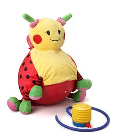 Take a look at the Lulu the Ladybug Bouncersize Ball Set on #zulily today!