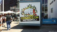 Festival Metrópoli Gijón: #ComicCon, #comic, #market, #merchandising, #exposition, #StarWars, #cosplay