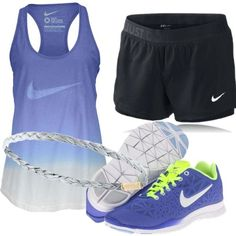 NIKE by alanad27 on Polyvore featuring NIKE, women's clothing, women's fashion, women, female, woman, misses, juniors, Summer and nike