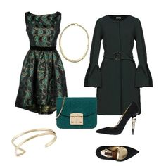 Eleganza in verde Diy Fashion, Winter Fashion, Fashion Looks, Womens Fashion, Emma Style, Soft Summer, Outfit Combinations, Wedding Night, Classic Style