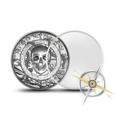 Roll Of 10 Elemetal 2 Oz Privateer Ultra High Relief