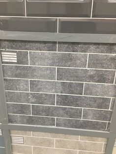 Mixed stone grey tiles Grey Tiles, Grey Stone, Tile Floor, Flooring, Bathroom, Washroom, Gray Tiles, Full Bath, Tile Flooring