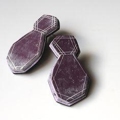 Rough polymer gems - Genevieve Williamson