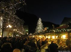 Bolzano, Italy: Located in the South Tyrol region, this market is frequented by Europeans looking for a little holiday spirit.