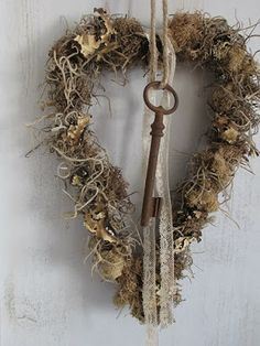 key and heart wreath                                                                                                                                                                                 More
