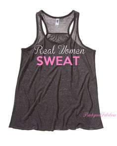 Workout Clothing Womens Tank Top Workout Tank by FlashyandFabulous