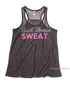 Workout Clothing Womens Tank Top Workout Tank by FlashyandFabulous