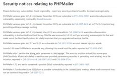 PHPMailer vulnerable to remote exploits due to a critical flaw  Design hongkiat.com