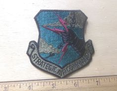US Air Force Strategic Air Command Embroidered Patch