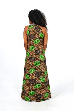 African Print Maxi Dress by Bongolicious1 on Etsy, $58.00
