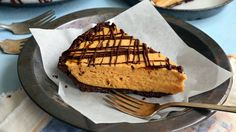 Dead simple to make, this pie hits all the right notes Sweet, nutty peanut butter mellows next to the tang of rich cream cheese and gets a lift from a little whipped cream But if that doesn't convince you, the chocolate cookie crust may