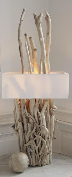 lamps driftwood lamp