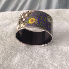 Hermes enamel bracelet Colorful Hermes bracelet Hermes Jewelry Bracelets