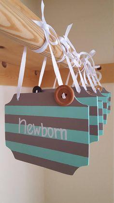 Wood Hanger Dividers Arrow Nursery Tribal Boho Nursery