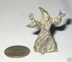 Miniature pewter Merlin the Magician  $12.59