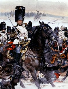 Favourite Nap Pic - Page 261 - Armchair General and HistoryNet >> The Best Forums in History Grenadiere zu Pferde, Eylau. Napoleon French, French Empire, Military Art, Military History, Edouard Detaille, French Army, Illustration, Fantasy Warrior, Napoleonic Wars