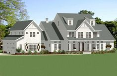 Modern Farmhouse Plan: Square Feet, 5 Bedrooms, 6 Bathrooms - Architecture can be 4000 Sq Ft House Plans, Texas House Plans, Family House Plans, Mountain House Plans, Ranch House Plans, Craftsman House Plans, Best House Plans, Country House Plans, Dream House Plans