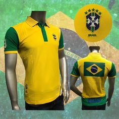 Brazil 2018 World Cup Russia Soccer Jersey Yellow Mundial Rusia 2018 Polo  Shirts Discount Price 39.90 878d9f6c87065