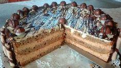Karamellás-mogyorós torta Tiramisu, Pie, Ethnic Recipes, Food, Caramel, Torte, Cake, Fruit Cakes, Essen