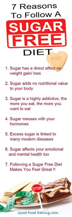 A few great reasons to follow a #sugarfree #diet. #Weightloss is the obvious benefit but there are a few other reasons too :)