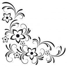 Online Shop The post wandtattoo blumen Wandtattoos Blumen Ralcom Design. Online Shop appeared first on Blumen ideen. Hand Embroidery Designs, Embroidery Patterns, Flower Patterns, Flower Designs, Wand Tattoo, Page Borders Design, Bordado Floral, Flower Wall Decals, Wood Burning Patterns