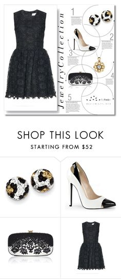 """""""Svádění"""" by catharinee-8 ❤ liked on Polyvore featuring Kevin Jewelers, Oscar de la Renta and RED Valentino"""
