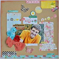Gallery Projects - Scrapbooking - Traditional - Two Peas in a Bucket