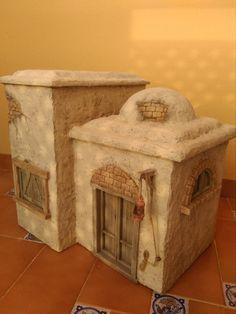 Diorama, Mud House, Modelos 3d, Pacific Rim, Clay Art, Christmas Home, Cribs, Fantasy Art, Nativity