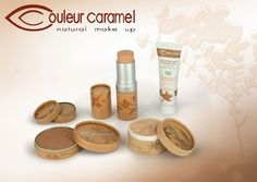 Couleur Caramel Natural Makeup range. #makeup #foundations #lipsticks #beauty #mascara #eyeliners. #Natural makeup at its best. #beautyproducts #SouthAfrica #couleurcaramel