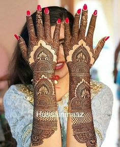 Super bridal mehndi designs brides pakistani wedding ideas There are different rumors about the annals of the … Henna Hand Designs, Mehndi Designs Finger, Pretty Henna Designs, Mehndi Designs For Girls, Unique Mehndi Designs, Wedding Mehndi Designs, Dulhan Mehndi Designs, Mehandi Designs, Hand Mehndi