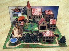 Image result for papercraft diorama