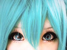 Miku hatsune makeup_____ going to a con soon!Whoop!Whoop!